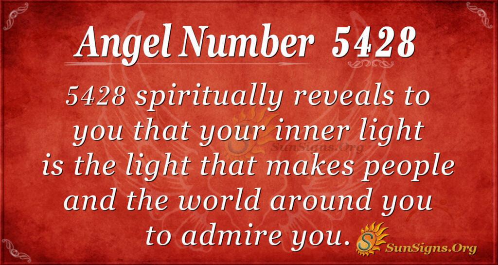 5428 angel number
