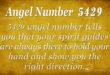 5429 angel number