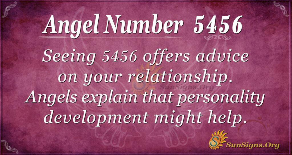 5456 angel number