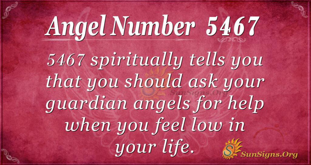 5467 angel number