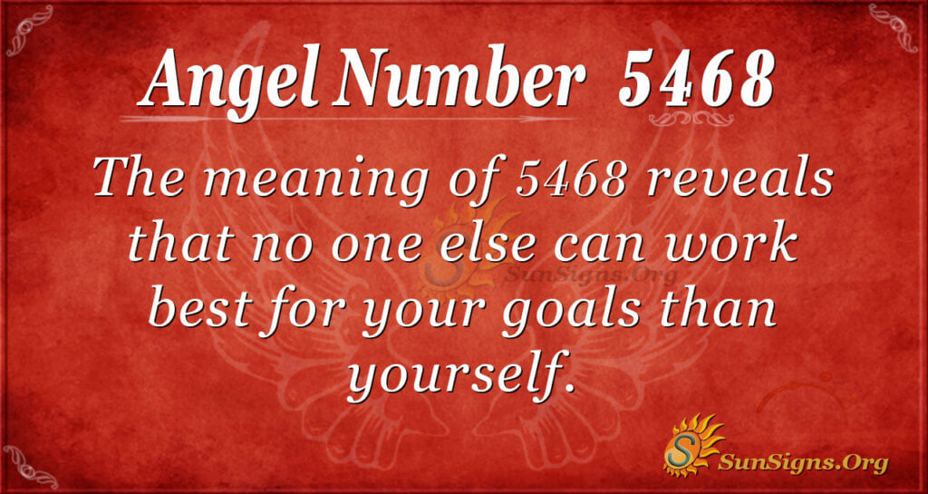 5468 angel number