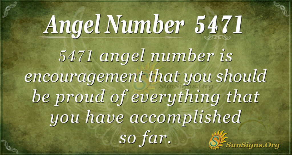 5471 angel number