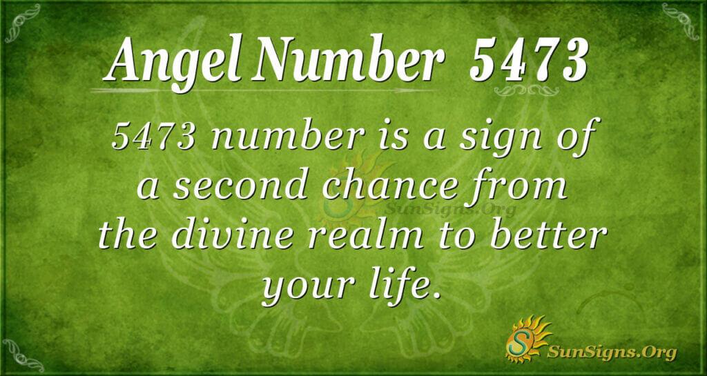 5473 angel number