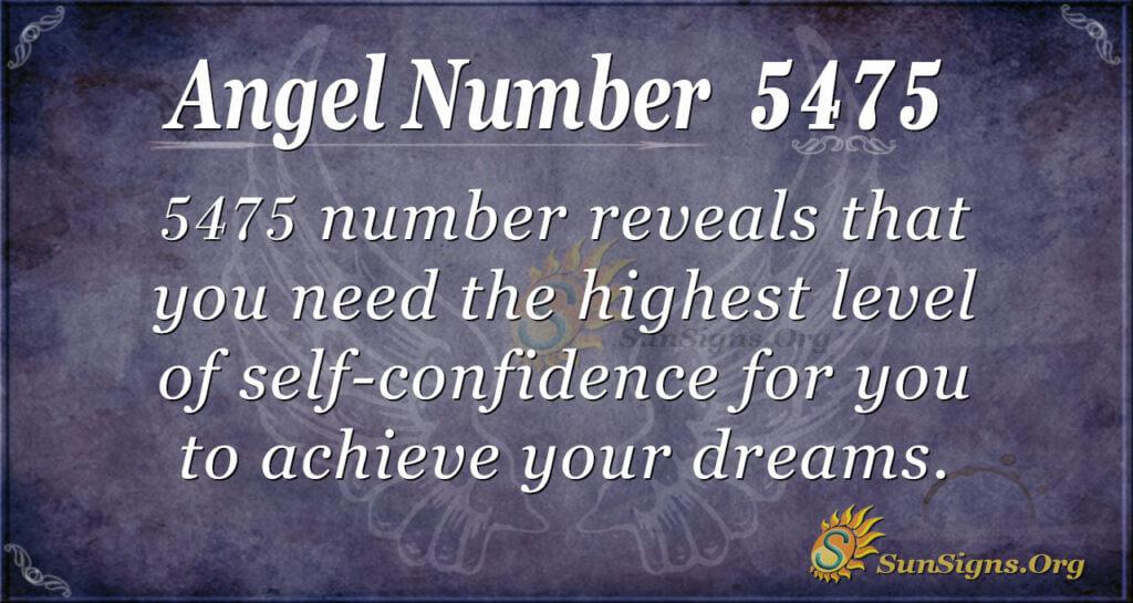 5475 angel number