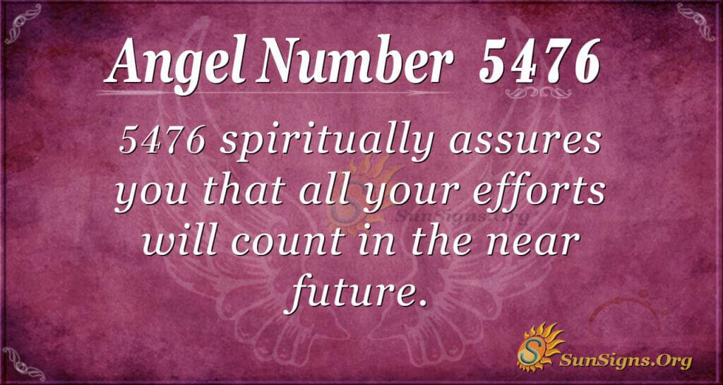 5476 angel number