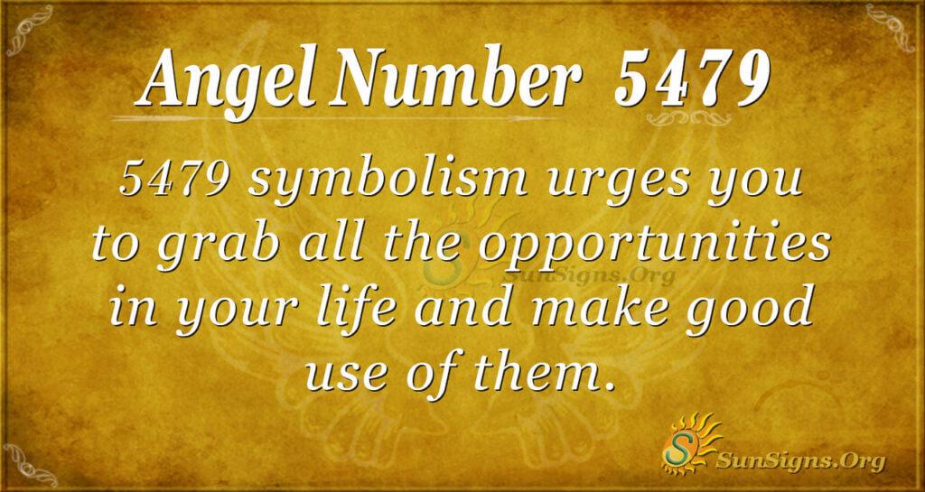 5479 angel number