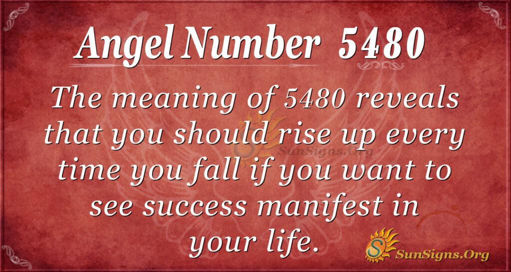 5480 angel number
