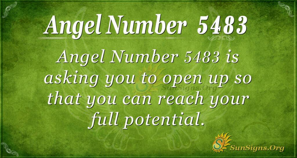 5483 angel number