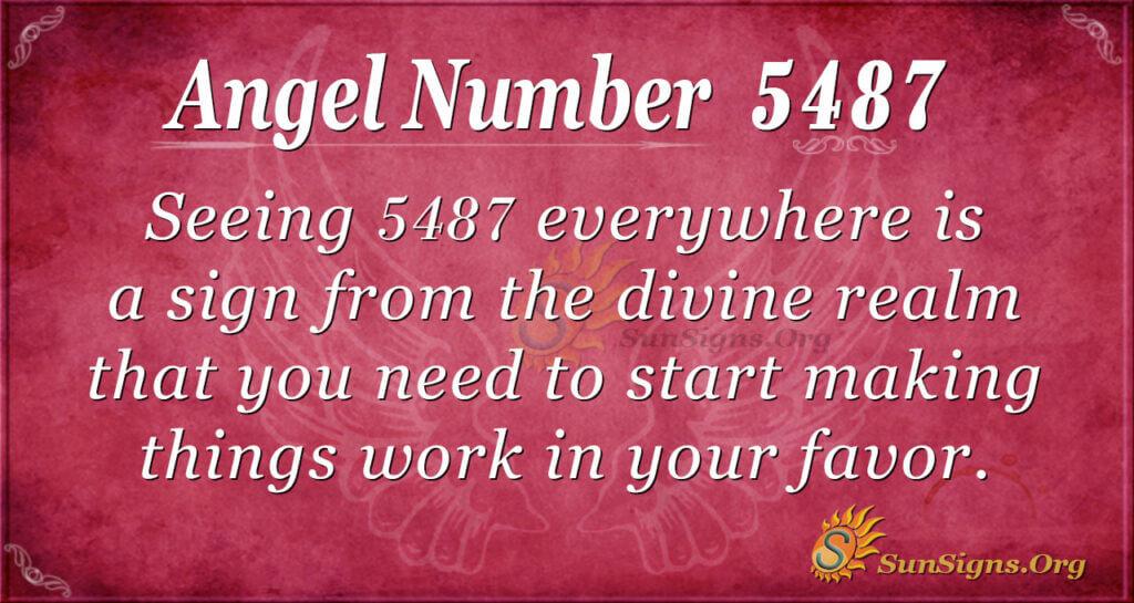 5487 angel number