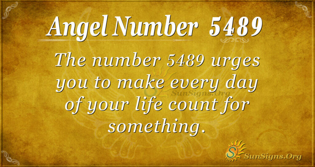 5489 angel number