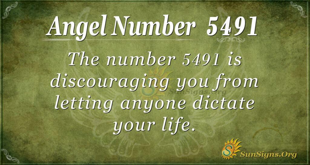 5491 angel number