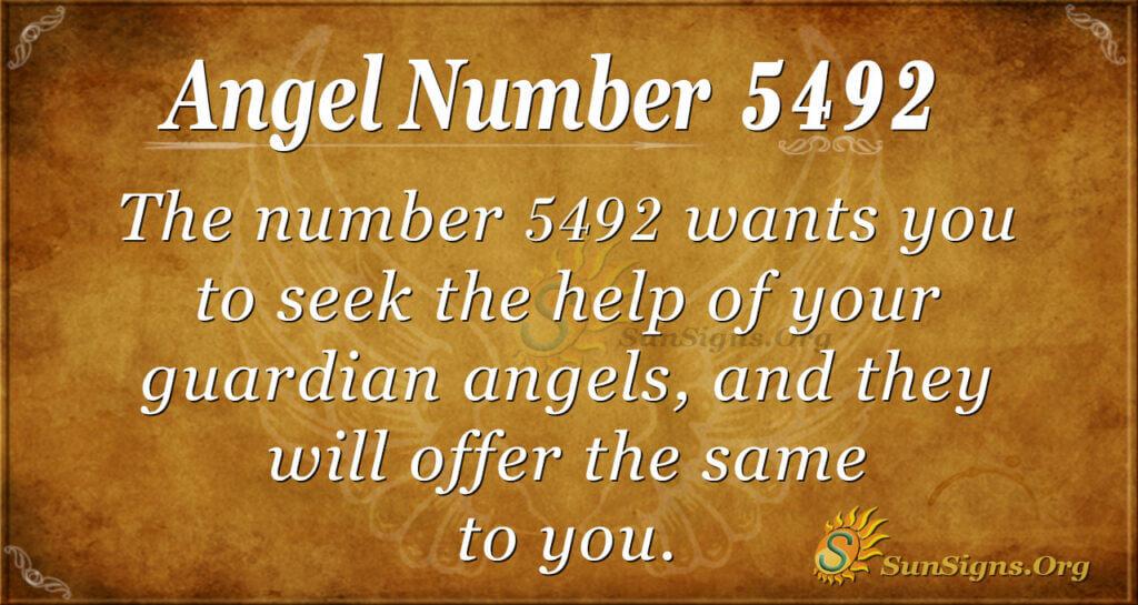 5492 angel number