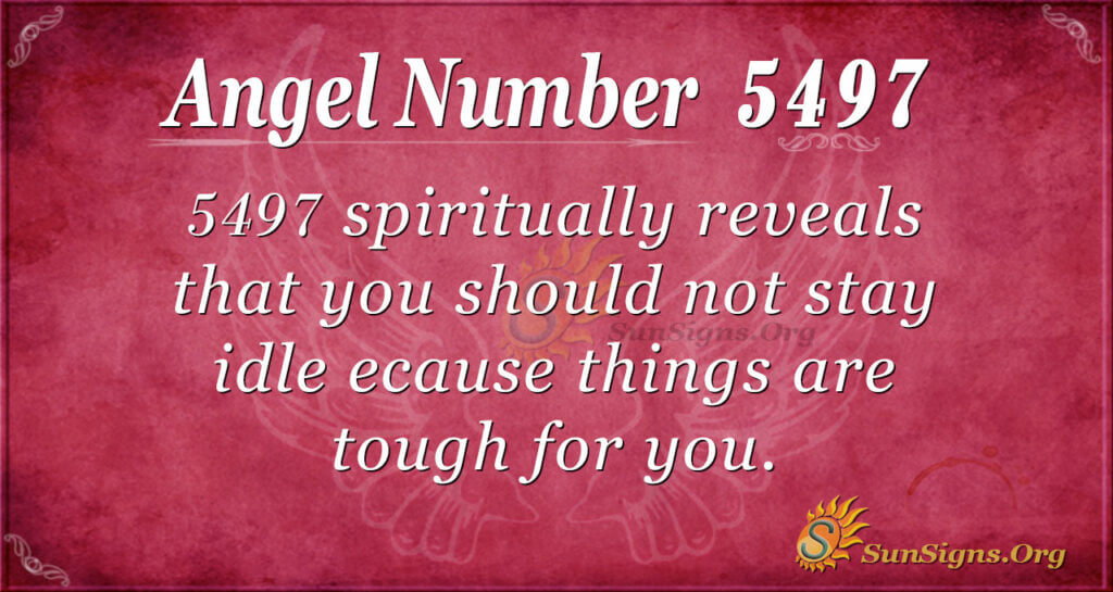 5497 angel number