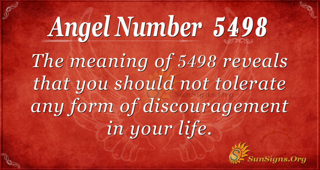 5498 angel number