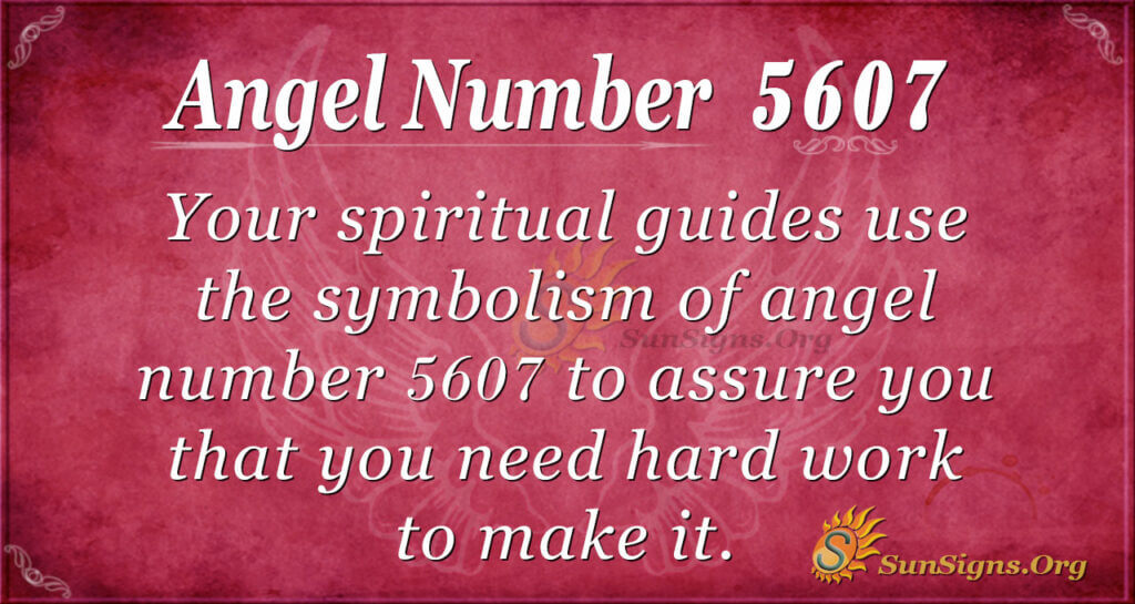 5607 angel number