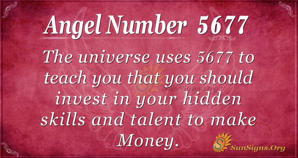 5677 angel number