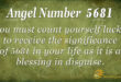 5681 angel number