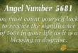 5681 angel number