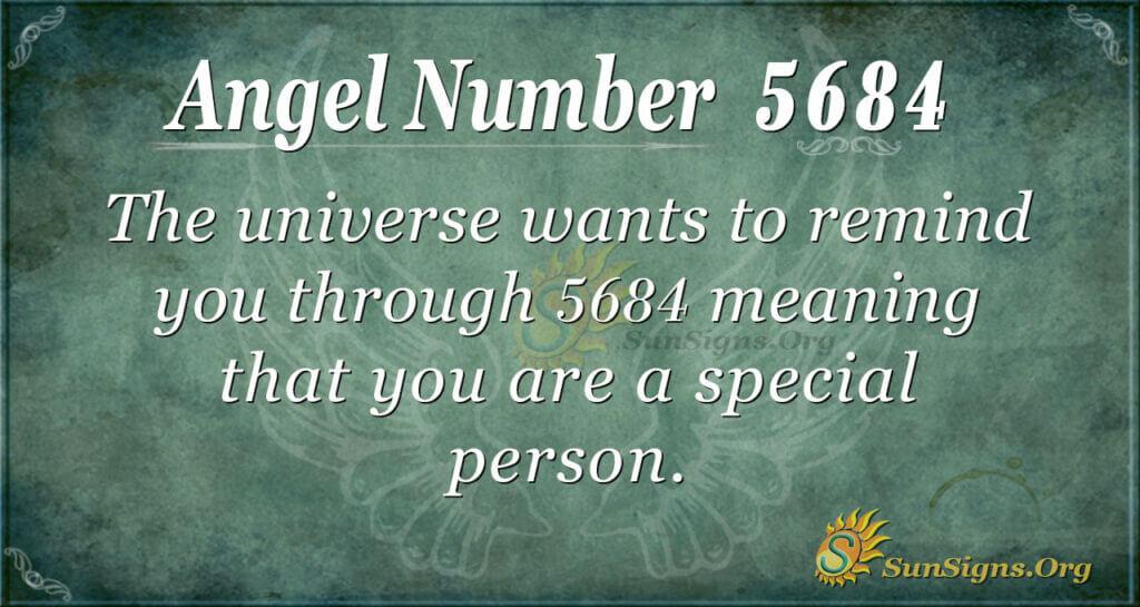 5684 angel number