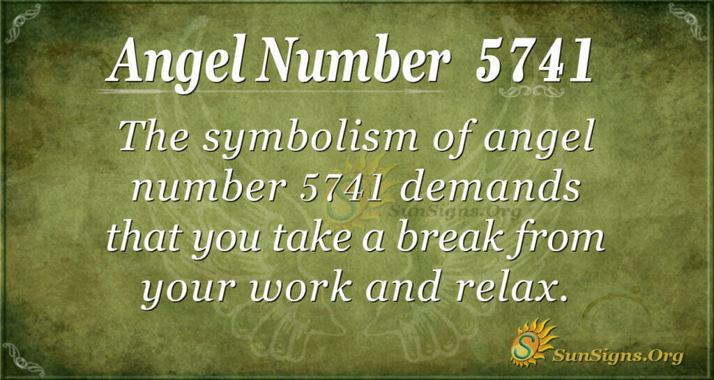 5741 angel number