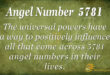 5781 angel number