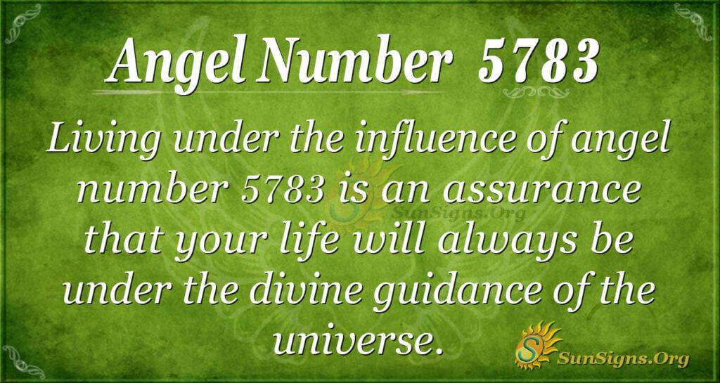 5783 angel number