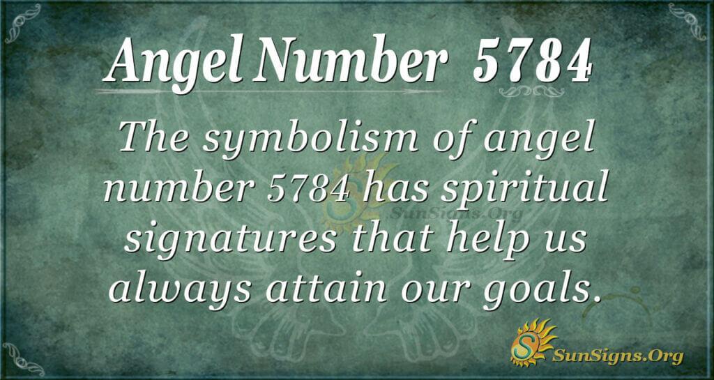 5784 angel number