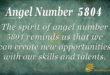 5804 angel number