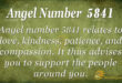 5841 angel number