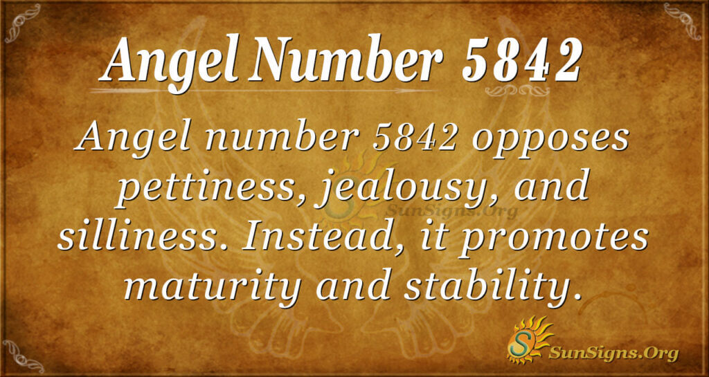 5842 angel number