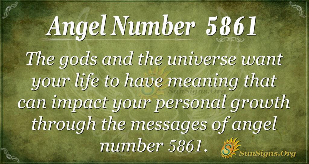5861 angel number