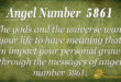 5861 angel number