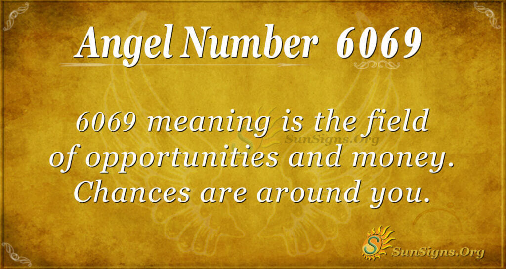 6069 angel number