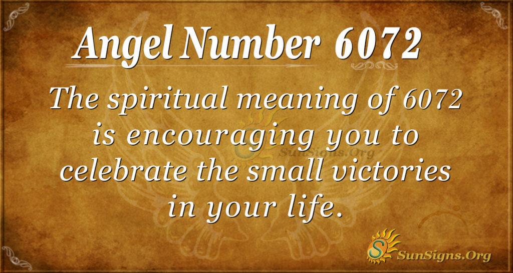 6072 angel number