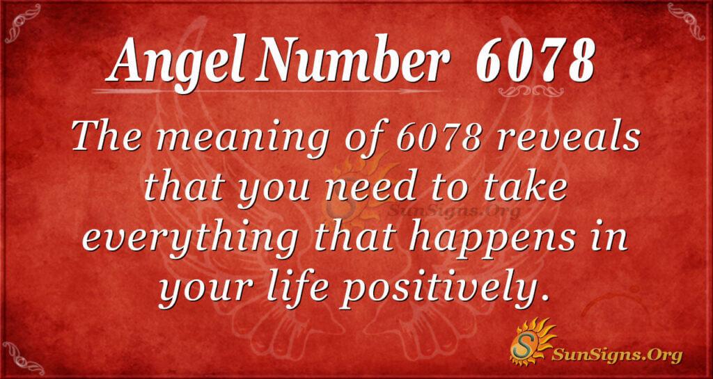 6078 angel number