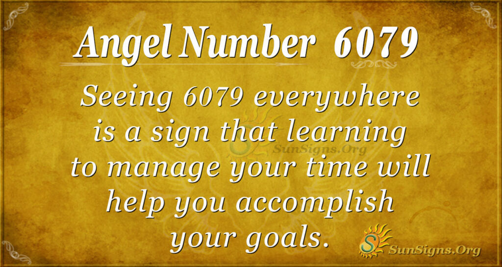 6079 angel number