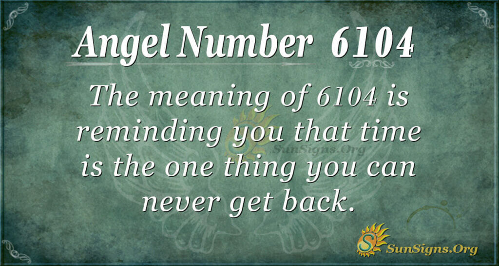 6104 angel number
