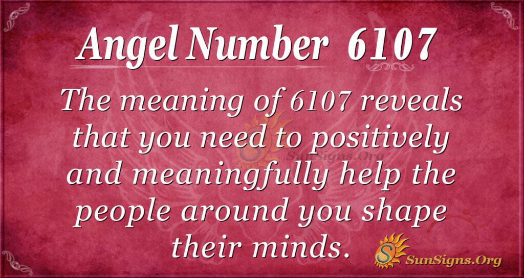 6107 angel number