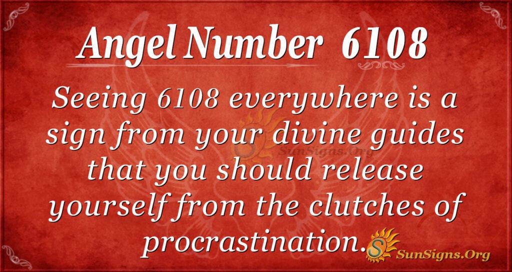 6108 angel number
