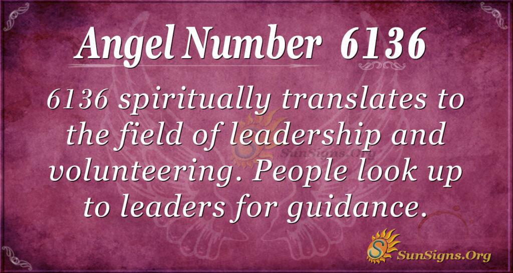 6136 angel number