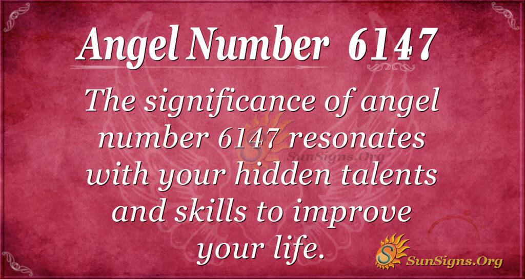 6147 angel number
