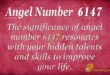 6147 angel number