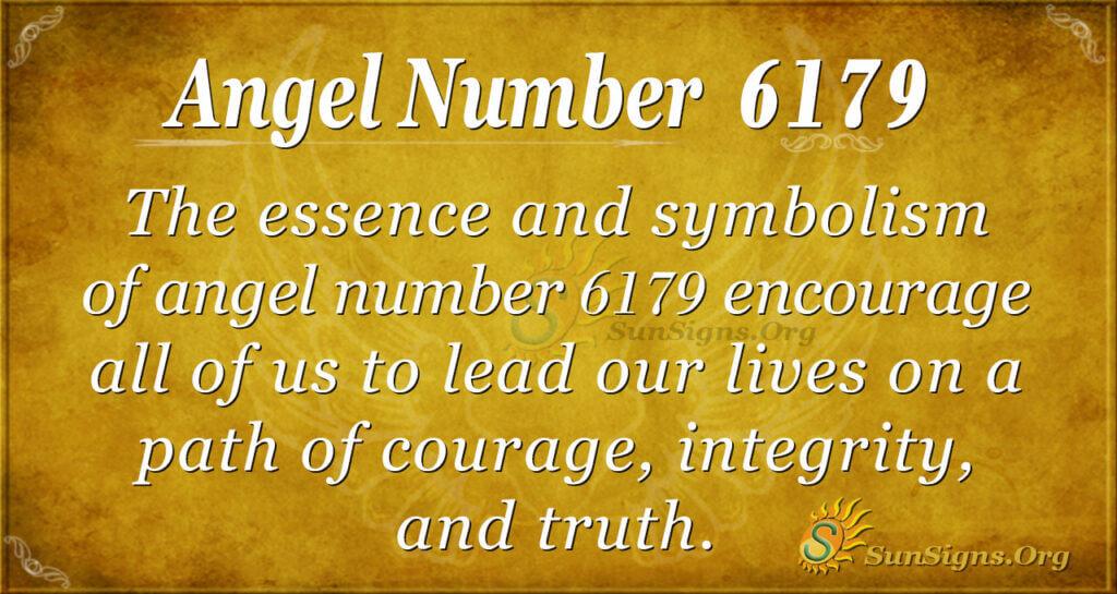 6179 angel number