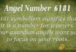 6181 angel number