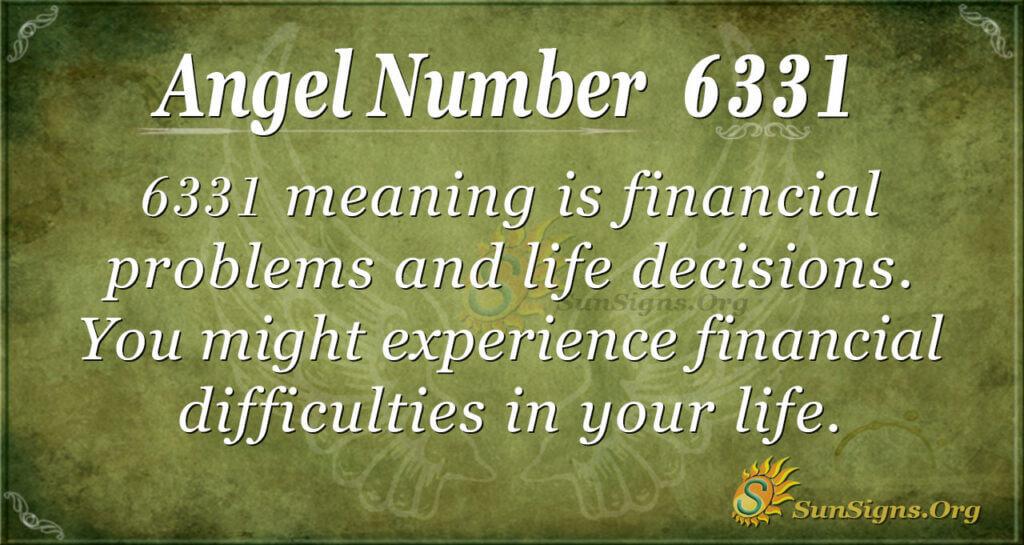 6331 angel number