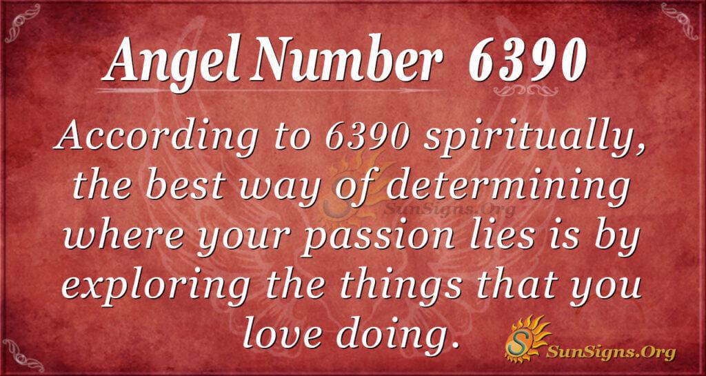 6390 angel number