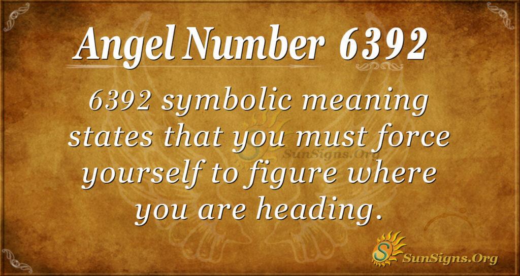 6392 angel number