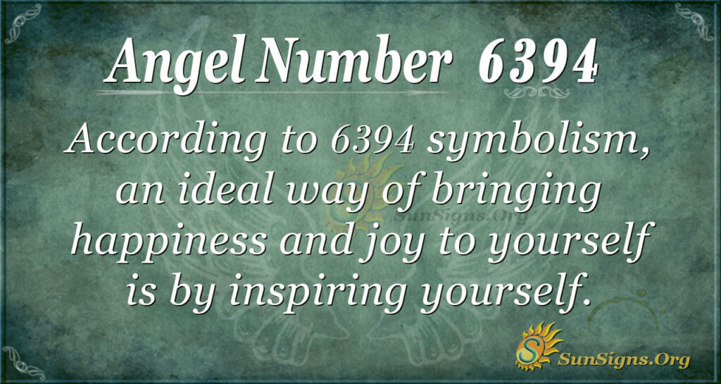6394 angel number