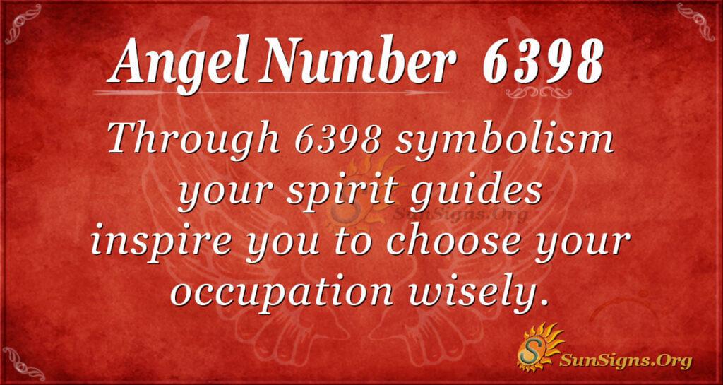 6398 angel number