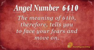 6410 angel number